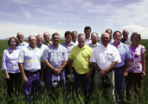 It was an opportunity for learning when this cotton group visited Montana.