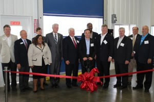 Bayer officials and Agricenter representatives attended the dedication of the new Bayer research facility in Memphis, Tenn.