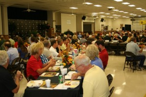 A big crowd of farmers and dignitaries turned out for the Annual Crop Field Day at the Delta Center in Portageville, Mo.