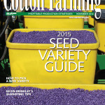 Novemeber 2014 Cover of Cotton Farming Magazine