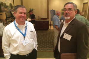 "Tony Williams and new TCGA president Ken Ross planned an effective program for the membership. ""We are hoping our farmers can have excellent conditions for finishing out this cotton crop,"" Williams says."