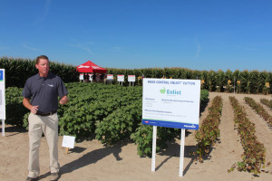 Chris Main of Dow AgroSciences gave a detailed update on the Enlist herbicide program as well as PhytoGen cotton varieties.