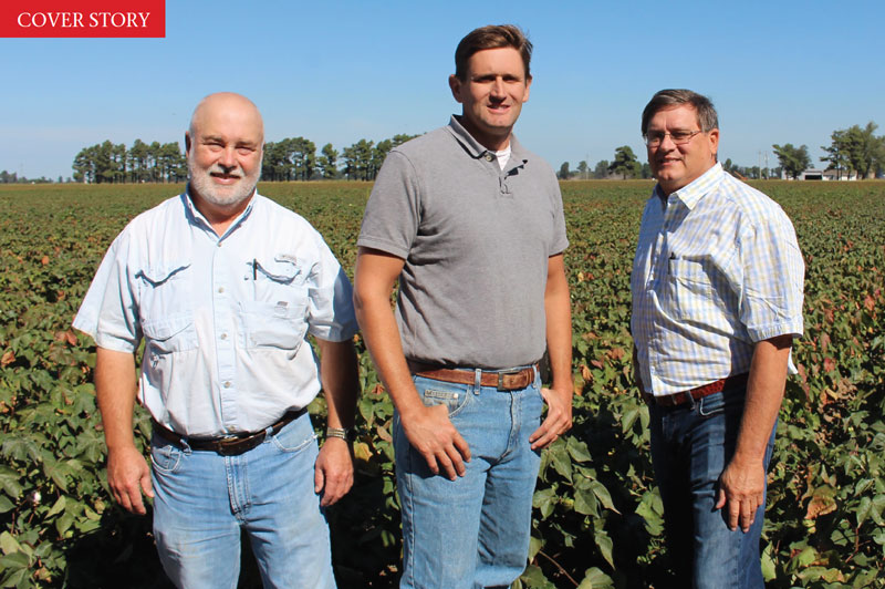 (From left) Consultant Tim Roberts has worked 20 years for Justin Rone and Lewis Rone.