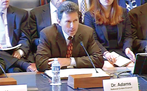 Gary Adams testifies