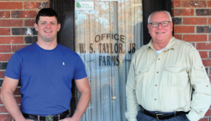 The Taylor family settled in Como, Miss., in the 1850s and set up shop in an office in the back of what was then a general store in 1900. Sledge and his son, David, said the family left the W.S. Taylor, Jr. Farms' name on the door to preserve the nostalgia
