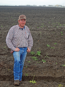 Chad Crivelli is a diversified California row-crop producer.