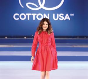 Fashion shows were a key part of COTTON USA's Cotton Days.