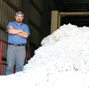As the 2016 ginning season is about to get underway, Aaron Litwiller, Bogue Chitto Gin general manager, stands ready to provide honest, timely and quality service for each of the gin's producers.