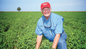 David Wildy farms more than 12,000 acres of cotton, corn, soybeans and wheat. He also is a new grower of peanuts and potatoes and has a small beef cattle herd.
