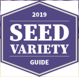 2019 seed variety guide