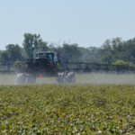 spraying herbicides in texas