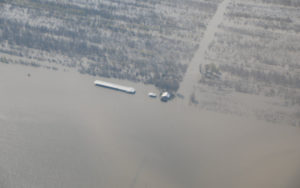 Yazoo backwater flooding