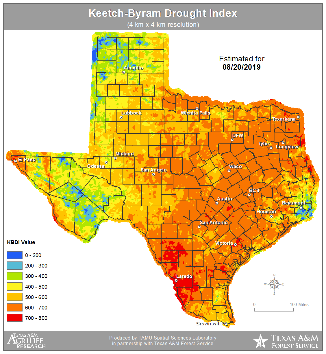 Map Of Texas Weather.Texas Weather Pendulum Swings From One Extreme To The Other Cotton