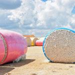 round bales danevang, texas