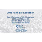 NCC farm bill vieos