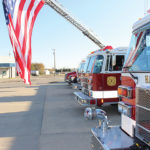 flag at hayti fire dept
