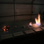 methanol flamability
