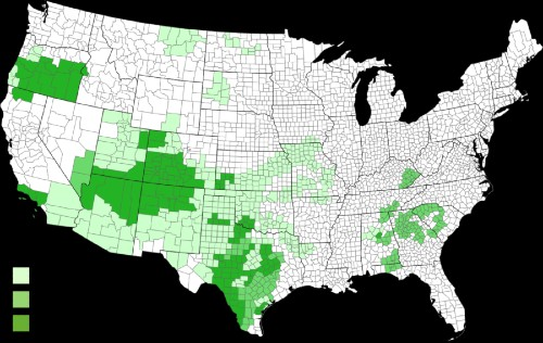 2020 drought map
