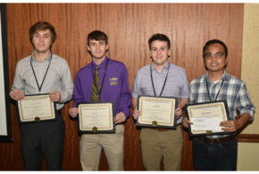 LSU AgCenter students receive scholarships at LACA conference