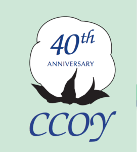 40th anniversary ccoy logo