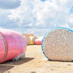 cotton bales, texas