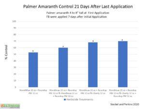 palmer pigweed control