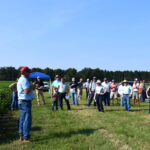 georgia cotton peanut field day