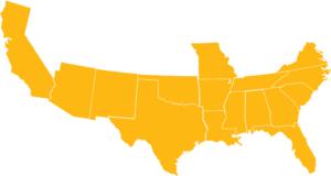 cotton belt map