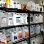 pesticide jugs